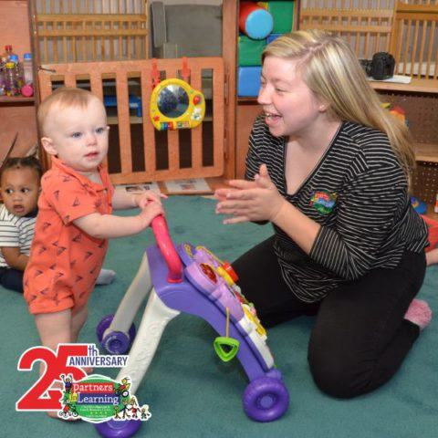Infant Teacher Educator with children at Partners in Learning