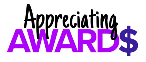 Appreciating AWARD$ logo
