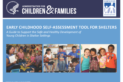 Early childhood self assessment graphic