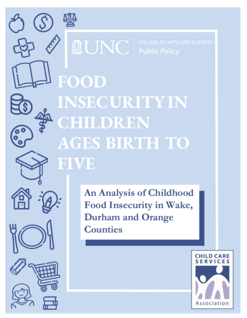 Food insecurity in children cover