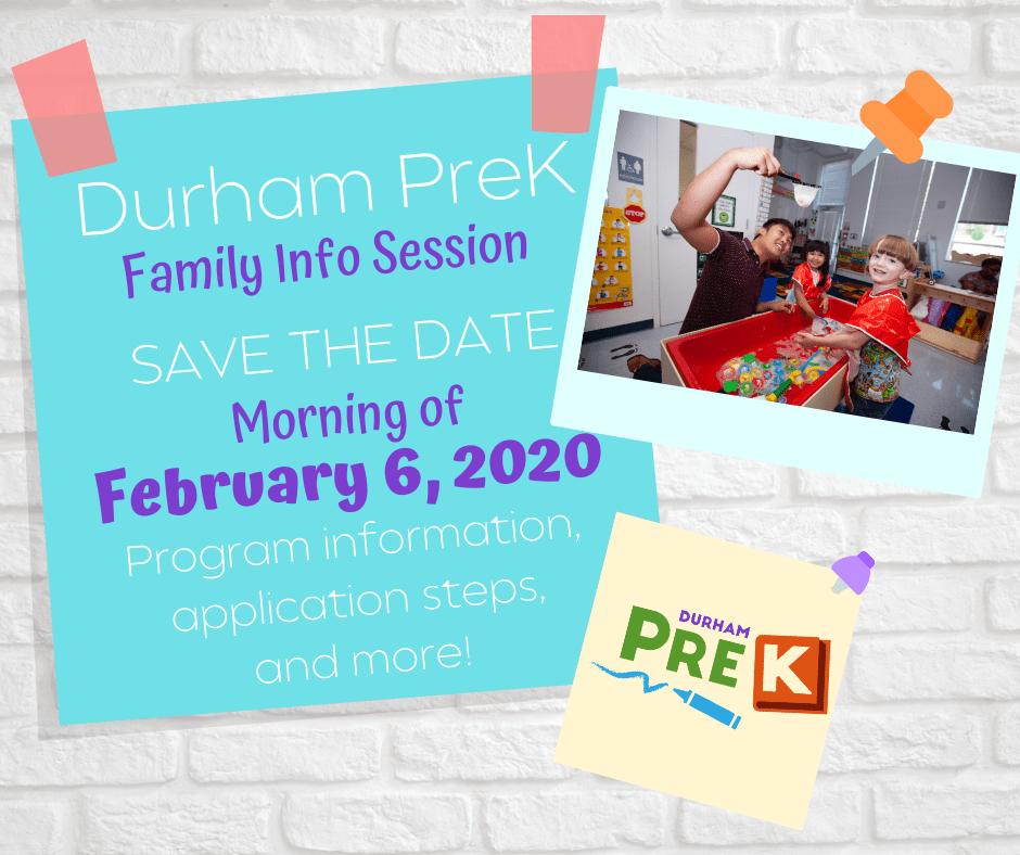 Durham PreK infographic