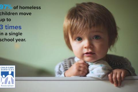 Graphic for homeless children