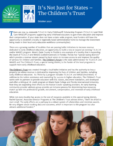 It's Not Just for States – The Children's Trust PDF image