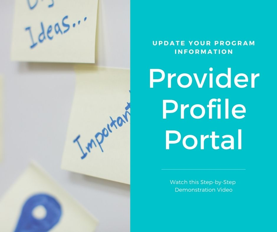 provider profile portal graphic