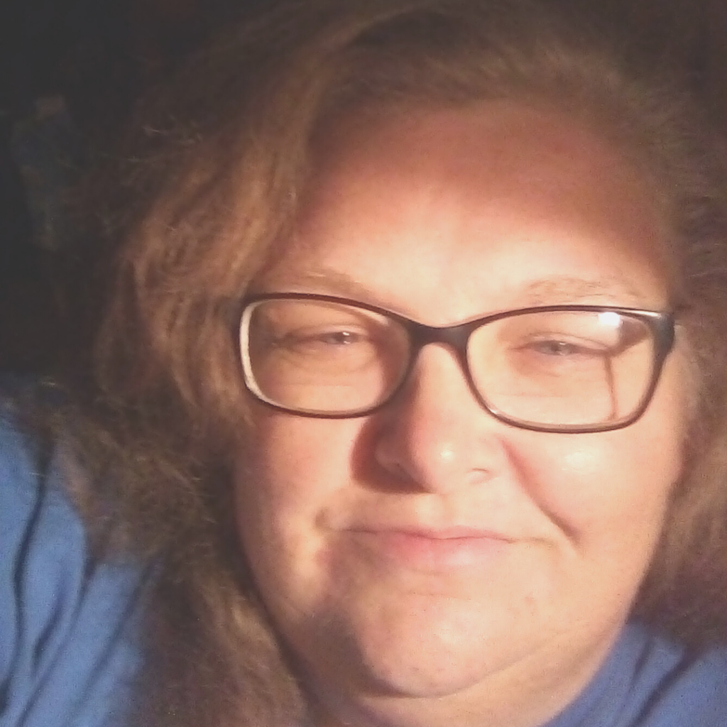 Selfie of a woman with glasses